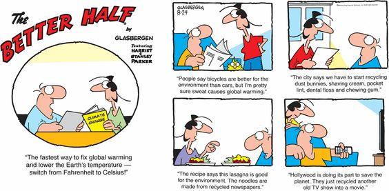 Better Half Comic Strip for August 24, 2014 | Comics Kingdom