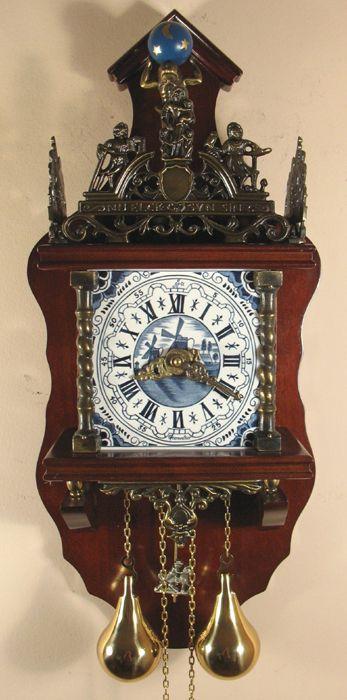 Sternreiter Delft Zaandam Reproduction Wall Clock Cuckoo