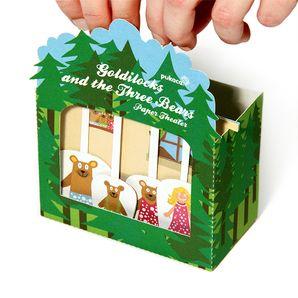Goldlöckchen und die drei Bären -  Paper Theater