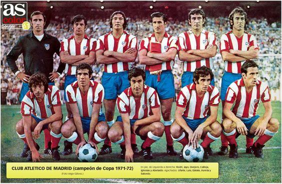 Atlético de Madrid, campeón de Copa 1971-72