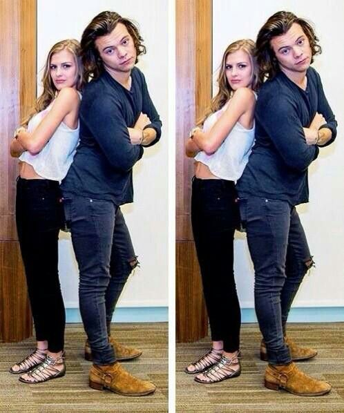 Harry Styles ❥ with fan - Life goals