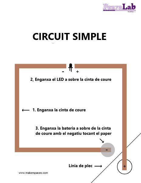 Circuits amb paper – Circuit simple