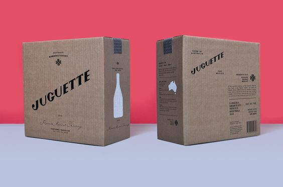 Visual identity for wine producer Juguette designed by Firmalt.