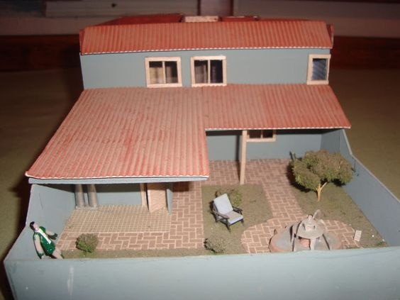 Maquetas casas de carton buscar con google proyectos que intentar pinterest search and Casas hechas de carton