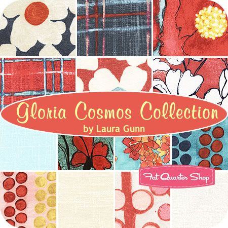 FQS GIFT GUIDE WINNING PIN! Congratulations! Send your shipping info to chelsey[at]fatquartershop[dot]comGloria Cosmos Collection Fat Quarter Bundle Laura Gunn for Michael Miller Fabrics #FQSgiftguide