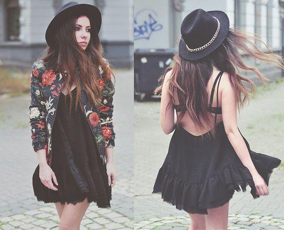 Summer dress hats zara