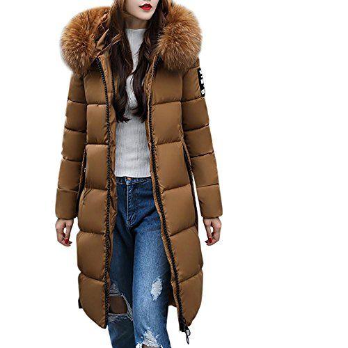 Neu Damen Mantel lang schwarz Wintermantel
