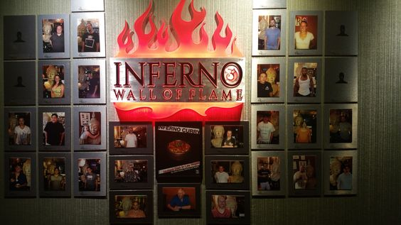 Inferno Curry Challenge Wall of Fame