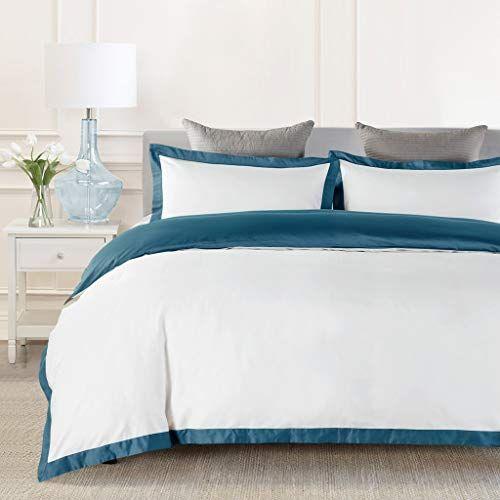 Johnpey Duvet Cover King 1000tc Egyptian Cotton Comforter Cover Set Bedding Set 1 Duvet Cover 2 Pillow Hotel Bedding Sets King Duvet Cover Comforter Cover