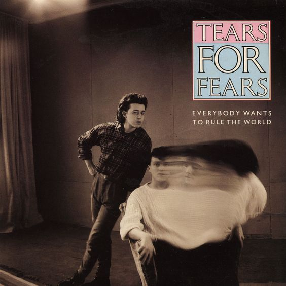 Tears for Fears – Everybody Wants to Rule the World (single cover art)