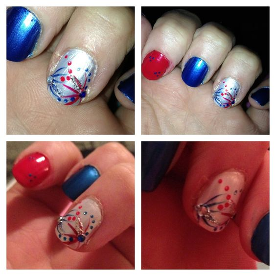 memorial day 2013 nail art