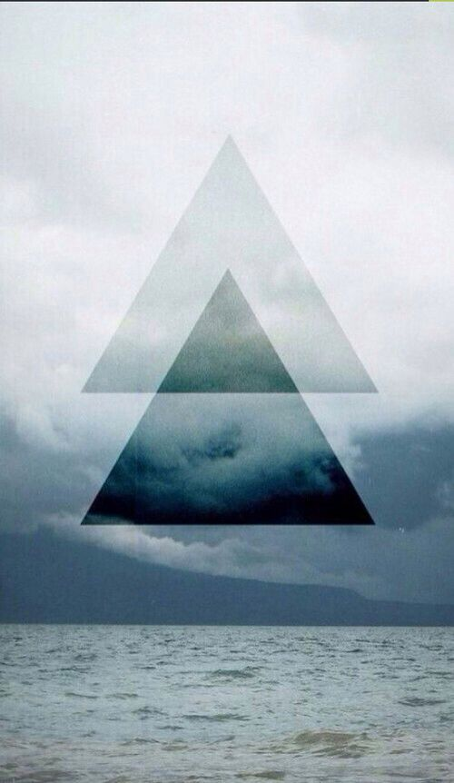 triangle tumblr hipster wallpaper blue triangle tumblr