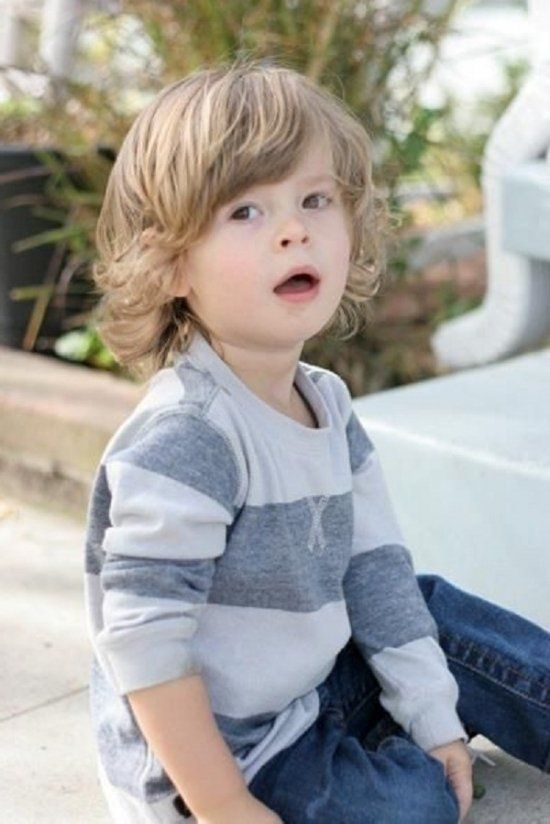 Mid Length Curls Jpg 550 824 Baby Boy Hairstyles Toddler Haircuts Boys Long Hairstyles
