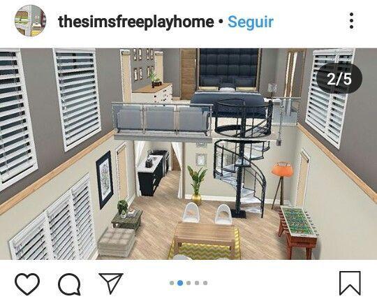 Sims Freeplay Loft Mykinglist Com Sims House Sims Freeplay Houses Sims House Design