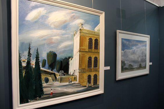Работы калининградских художников в Калининграде. Фото Жени Шведы
