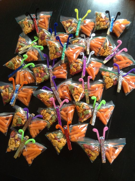 Healthy, peanut free, spring snack for kids classroom ...