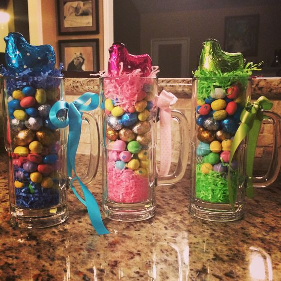 Grown Up Easter Basket Great Spring Party Favors For