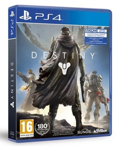 destiny playstation 4 pas cher prix promo jeux video ps4 amazon 34 00 ttc jeux video pas. Black Bedroom Furniture Sets. Home Design Ideas