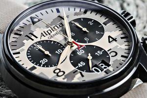 Alpina: Hochleistungs-Flieger-Chronograph in Tarnfarben