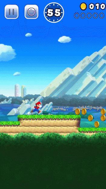 Super Temple Run Bros: Nintendo anunció un nuevo juego de Mario para teléfono llamado Super Mario Run. En el juego Mario corre sin detenerse y el único movimiento que se puede hacer es saltar. Puedes ver un video mostrando el juego en este enlace. Super Mario Run estará disponible para iPhone y iPad en mas de 100 países a partir de diciembre de 2016. [x]
