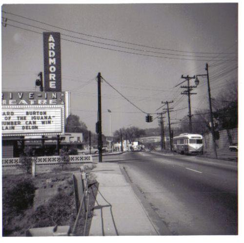 Route 30 drive in movie latrobe