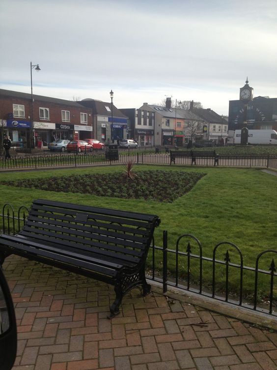 Hednesford town centre..much prettier at spring time.