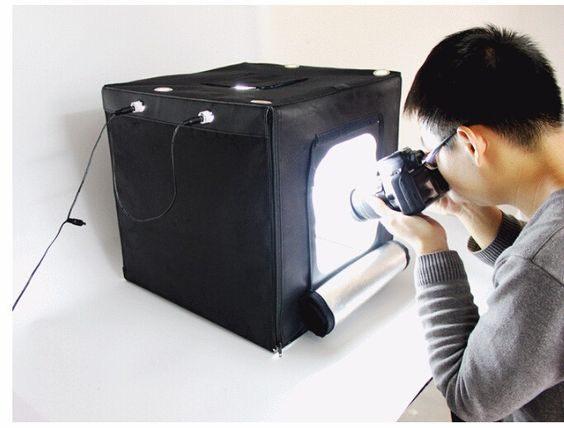 photographic equipment  led softbox photo box light box Portable Mini Photo Studio Photography Light Box Photo Box - http://www.99bones.com/products/photographic-equipment-led-softbox-photo-box-light-box-portable-mini-photo-studio-photography-light-box-photo-box/?http://www.tryvaga.com - 	Item Specific:	  	item sent disassembled,you need to assebly them yourself	body size:40*40*40cm,suit for items less than 25*25cm Standard color temperature: 5500K color temperature make phot