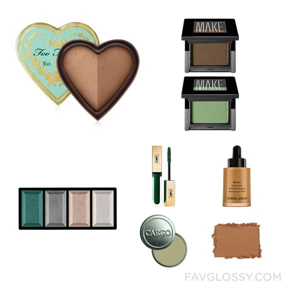 Makeup Guide Featuring Too Faced Cosmetics Cheek Bronzer Hypoallergenic Eye Makeup Clé De Peau Beauté Eyeshadow And Yves Saint Laurent From May 2016 #beauty #makeup