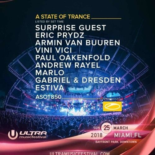 Above And Beyond Live At Ultra Music Festival 2018 Asot 850