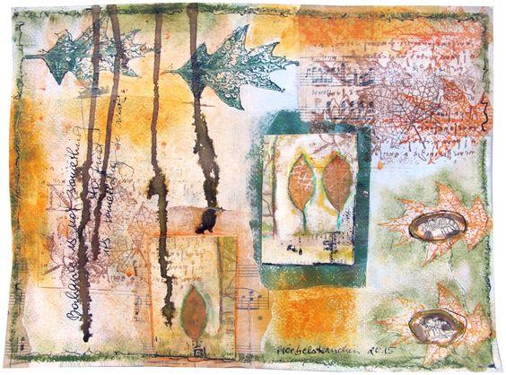 froebelsternchen: INSPIRED BY AUTUMN COLOURS ... Inspiriert von Herbstfarben