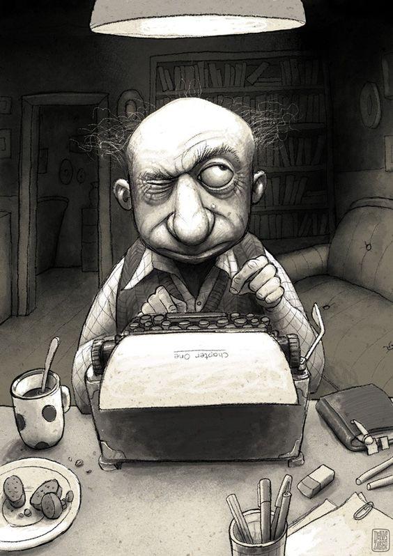 O cão que comeu o livro...: A vida dura de um escritor bloqueado / Writer's block: