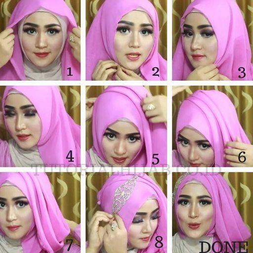 Tutorial Hijab Untuk Kebaya Anak Sd