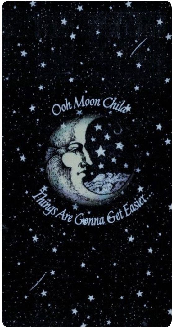 Pin By Alfonso V On Moon Iphone Wallpaper Tumblr Aesthetic Moon Child Cancer Moon Child Tattoo