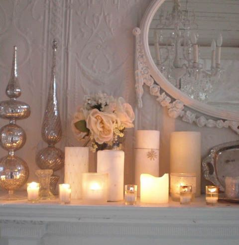 Candles bedroom designs and bedrooms on pinterest for Room decor romantic