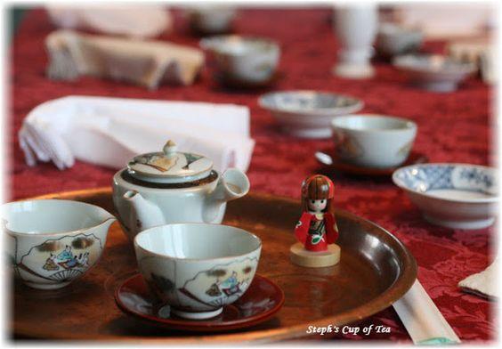 Steph's Cup of Tea: A Japanese-Themed Tea Luncheon