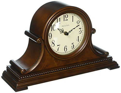 Bulova Asheville Mantel Clock With Images Mantel Clocks Mantel Clock