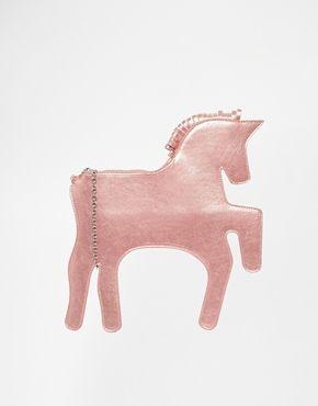 Unicorn clutch from Whitepepper via ASOS #bag #fbloggers