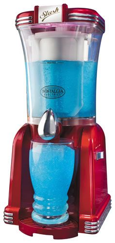 Retro Slush Machine...if it does margaritas, I want it!