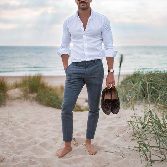 24 Beach Wedding Guest Outfits For Men Wedding Weddingday Weddingideas Beachwedding Craz Beach Wedding Men Outfit Casual Wedding Attire Beach Wedding Men