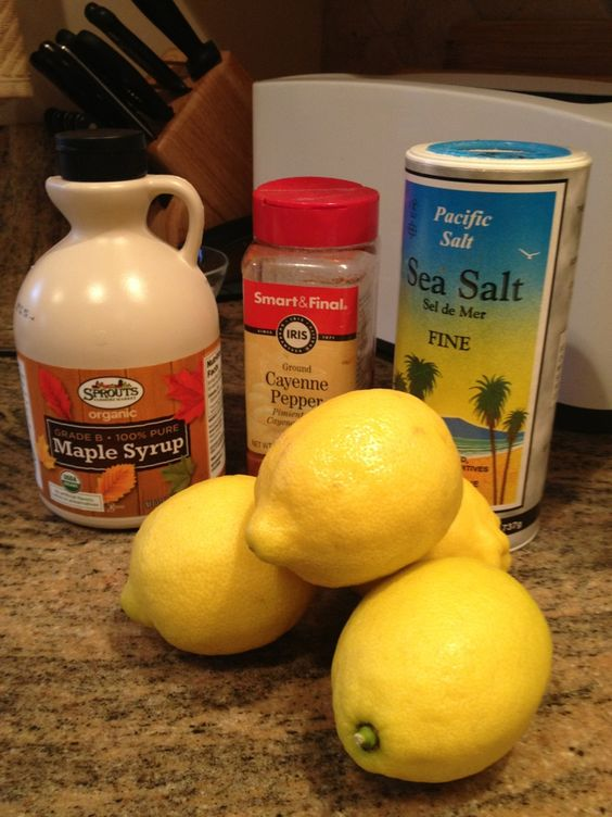 "The Master Cleanse is better know as the ""lemon, maple syrup and ..."