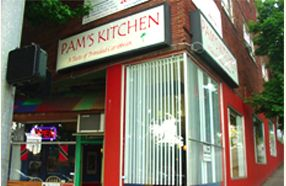 """Seattle, WA - Pam's Kitchen  """"The best Caribbean food in Seattle""""  Triple D -- Conveniently located on the corner of 50th & University"""