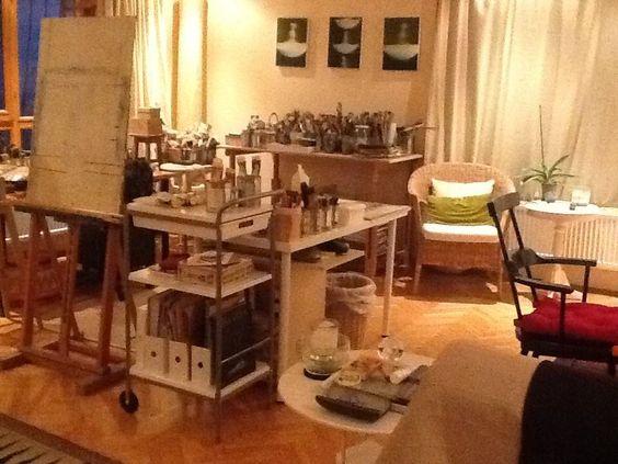Figen Cebe's Ankara studio