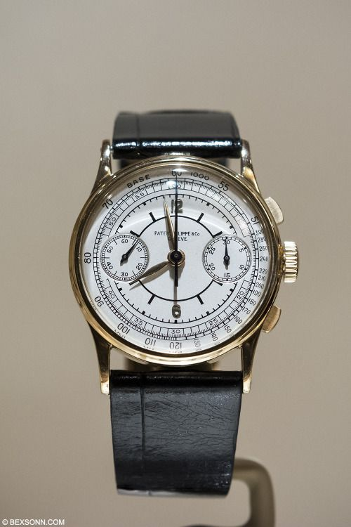 bexsonn:1942 #PatekPhilippe 130 with sector dial - Just awesome!