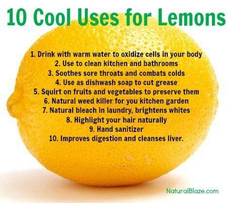 Pinterest the world s catalog of ideas - Unusual uses for lemons ...