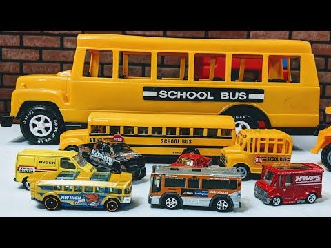 Cars For Kids Toys City Bus Go Metro Local Bus Video Cars Toys Youtube Childcare Bus Kids