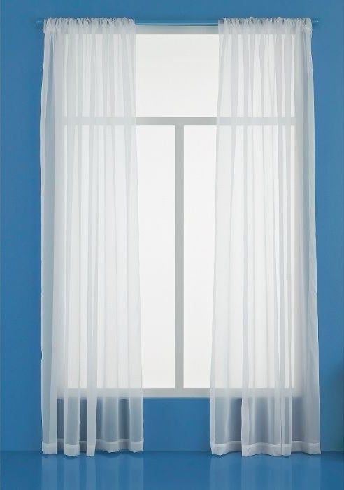 This Basic Sheer Window Curtain Because You Want To Let The Sun