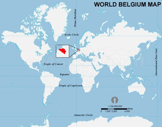 This is one of the Francophonie countries Belgium located in – Belgium on the World Map