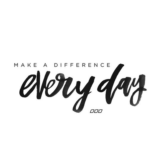 Morning Mantra ... What difference are you making today? How are you being, doing, and giving what you love? What are you doing today to move you towards your dreams?: