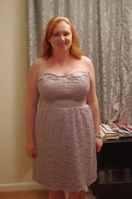 Silver Rose Sewing: Tutorial: Satin'N'Lace Corset Back Dress Part 2