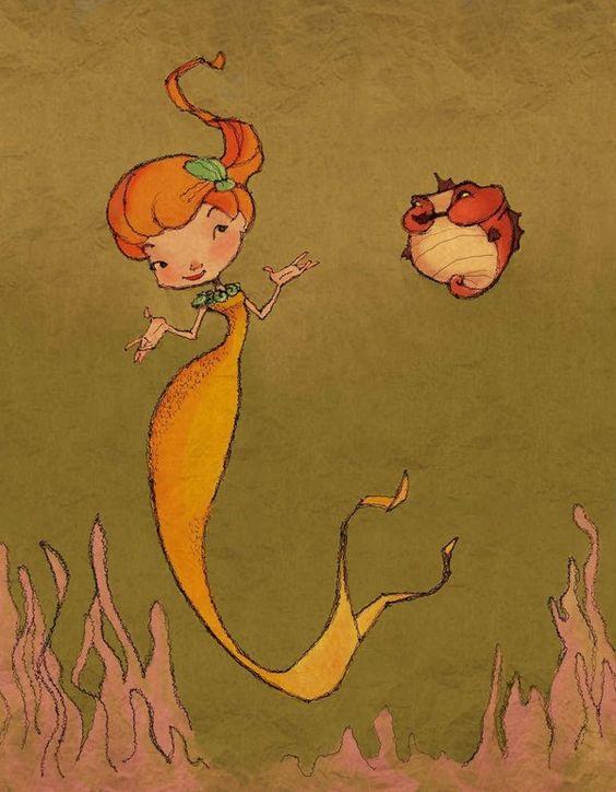 Mermaid and Chubbers